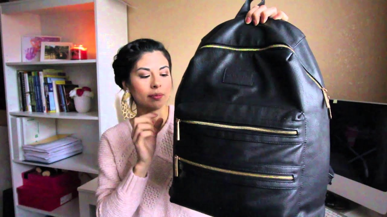 the honest company city backpack diaper bag review youtube. Black Bedroom Furniture Sets. Home Design Ideas