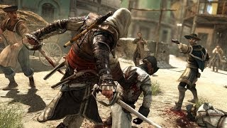 Assassin's Creed 4 Free Roam , Combat & Parkour