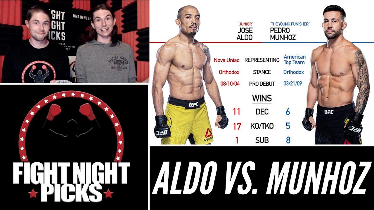 UFC 265: Jose Aldo vs. Pedro Munhoz odds, picks and prediction