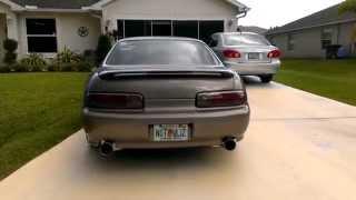 1999 sc400 srt intake imf headers 5zigen fireball mega exhaust