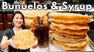 How to make The Best Authentic Mexican Buñuelos + Syrup Recipe | Easy Step by Step