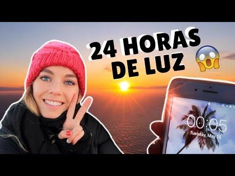 EL LUGAR DONDE NUNCA OSCURECE - 24 HORAS DE LUZ