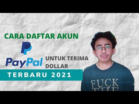Cara Daftar Account Paypal Gratis 2021 - Tanpa Kartu Kredit