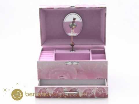 Boîtes à musique et boîtes à bijoux musicales
