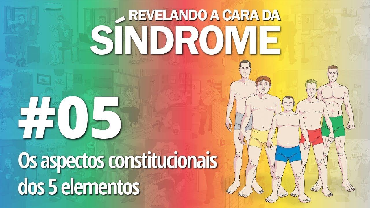 Revelando a Cara da Síndrome 05 - Aspectos constitucionais dos 5 elementos