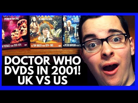 Classic Doctor Who DVDs in 2001! UK VS. US