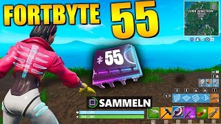 Fortnite Fortbyte 55 🔑 Haunted Hills | All Fortbyte Places Season 9 Utopia Skin English