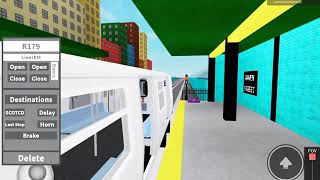 MTA: Fahren des R179 (A) Zuges | Roblox