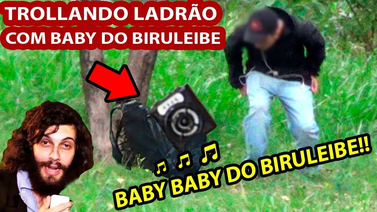 DANDO SUSTO EM LADRÃO COM BABY BABY DO BABY DO BIRULEIBE  LEIBE