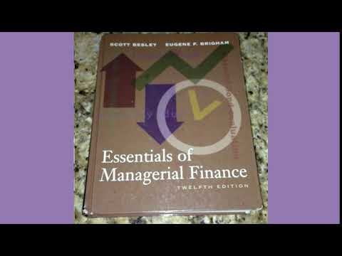 Essentials of Managerial Finance by Besley 14th Edition