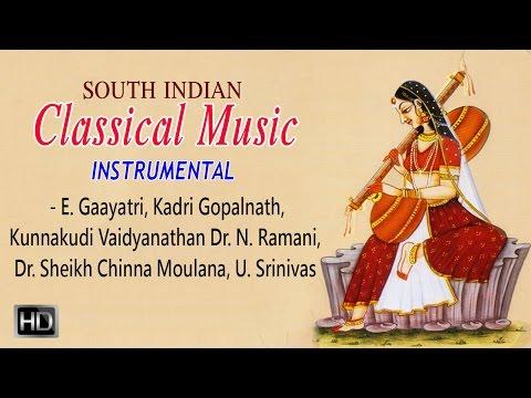 Kunnakudi Vaidyanathan - Classical Music (Instrumental) - Veena |Violin |Flute - Jukebox