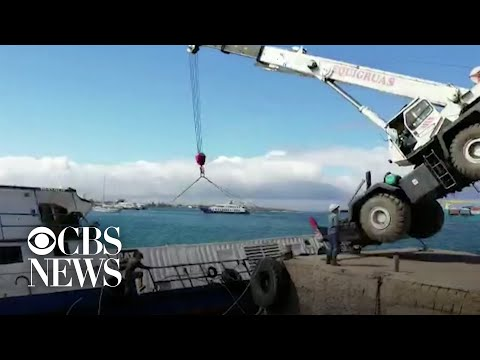 600 gallons of oil spills off the Galápagos Islands