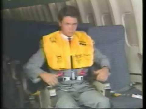 TWA Safety Video / Lockheed L-1011 TriStar