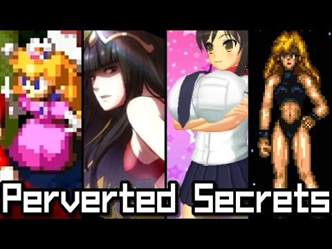 Top 5 PERVERTED SECRETS in Nintendo Games (3DS, SNES, GBA)