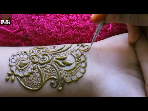 Mind Blowing Latest Beautiful Mehndi Design    Henna Designs For Hand   Arabic Mehndi Design 2019 thumbnail