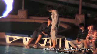 [Fancam]110117 SBS New Year Special in Pattaya - at Kids Pool - HaeHyuk