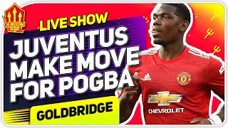 Pogba Wanted By Juve! Solskjaer's NEW Strikeforce! Man Utd News