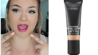 FIRST IMPRESSION | MAC Pro Longwear Nourishing Waterproof Foundation