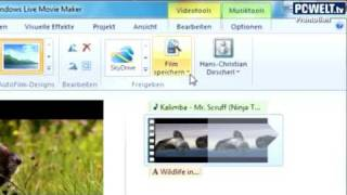 Windows Live Fotogalerie, SkyDrive und Movie Maker vorgestellt