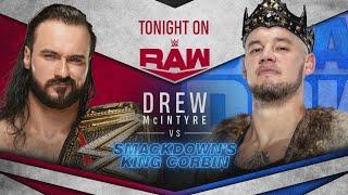 Drew McIntyre Vs King Corbin WWE Raw 18 05 2020 En Español