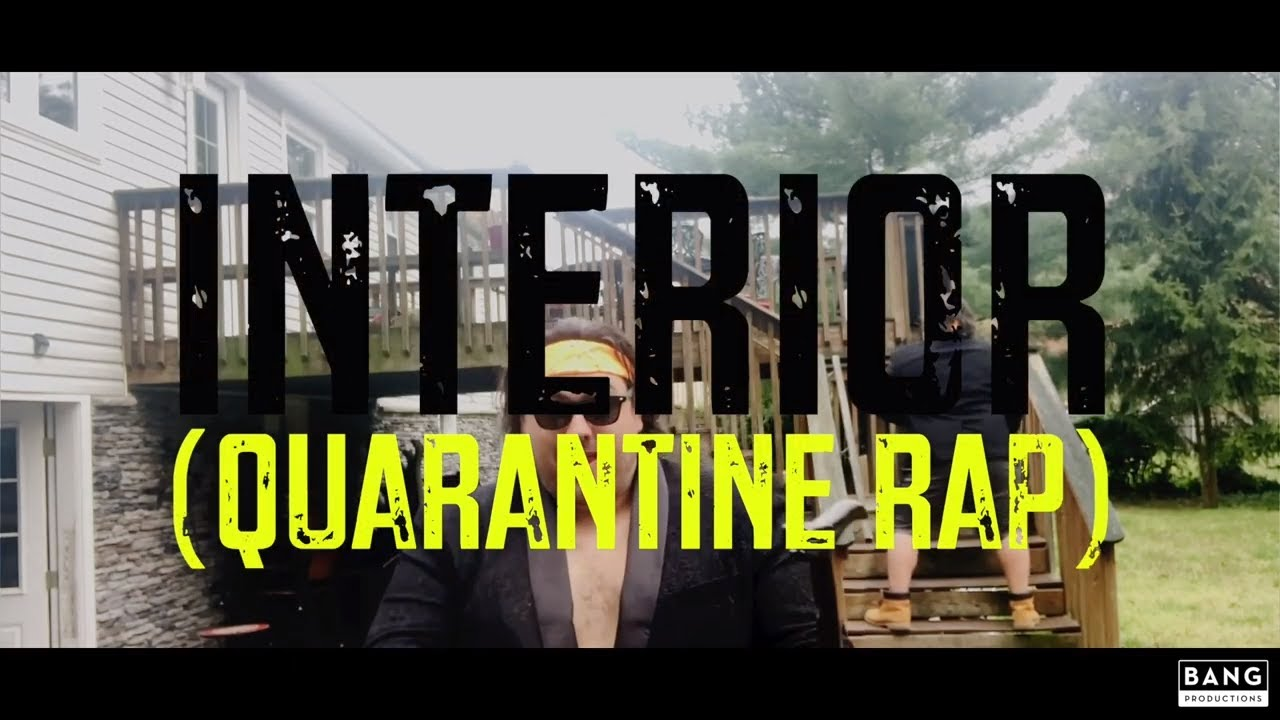 COMEDIAN GERARD HARAN: INTERIOR (QUARANTINE RAP) - COMEDY FUNNY LAUGH