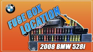 ▶️bmw 528i 530i 525i 535i e60 e61 fuse box location 2003 2004 2005 2006 2007  2008 2009 2010 - youtube  youtube