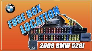 ▶️BMW 528i 530i 525i 535i E60 E61 Fuse Box Location 2003 2004 2005 2006  2007 2008 2009 2010 - YouTubeYouTube