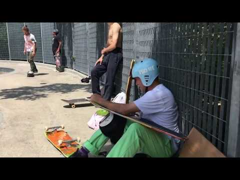 Mark Gonzales and Tony Hawk doubles session Pier 62 - 5/29/18
