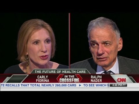 Nader and Fiorina debate Obamacare