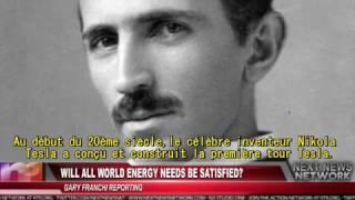 RUSSIE énergie libre : brevet de  Tesla pour fournir de l'énergie à la planète entière