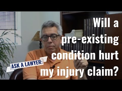 Will a Pre-Existing Condition Hurt My Injury Claim? | Tennessee Personal Injury