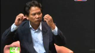 Part2 Dr. Sok Touch Discuss on Education Sector - TV 3 - 19 Aug 2014