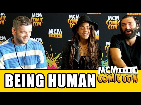 Being Human Reunion   Aidan Turner, Russell Tovey & Leonora Crichlow