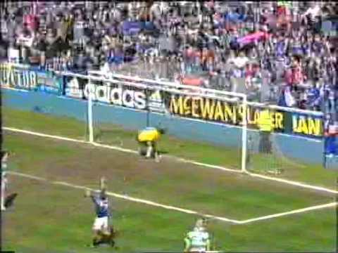 50 in 50:   50 Rangers goals in 50 years of Old Firm derbies.