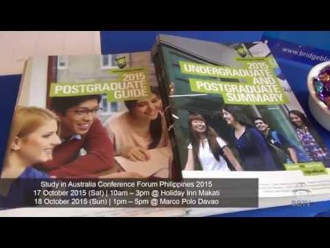 Study in Australia Conference Forum Philippines 2015