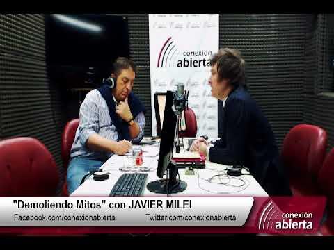 """""""Demoliendo Mitos"""" con JAVIER MILEI 24-11-17 /Radio Conexion Abierta"""