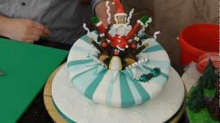 Exploding Santa Preview - Cake Decorating with Paul Bradford