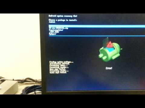 Ott-tv-box update Fail.