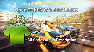 Asphalt 8 - Airborne, How to open Token Cars without tokens HACK