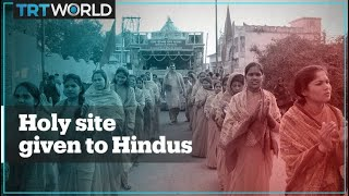 India gives the ownership of disputed holy site in Ayodhya to Hindus