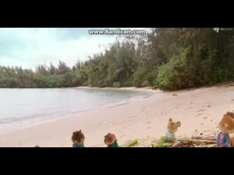 Chipmunks 3 survivor scene