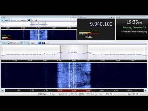 23 12 2017 Trans World Radio Africa in French to CeAf 1935 on 9940 Manzini