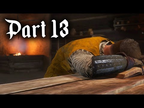 Kingdom Come Deliverance Gameplay Walkthrough Part 13 - MIGHTIER THAN THE SWORD & COURTSHIP
