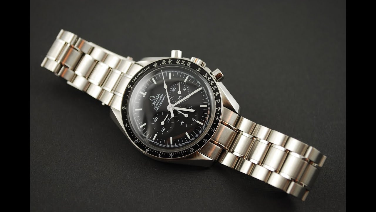 Omega Speedmaster Pro Chronograph 3570.50.00 Review Moonwatch - YouTube