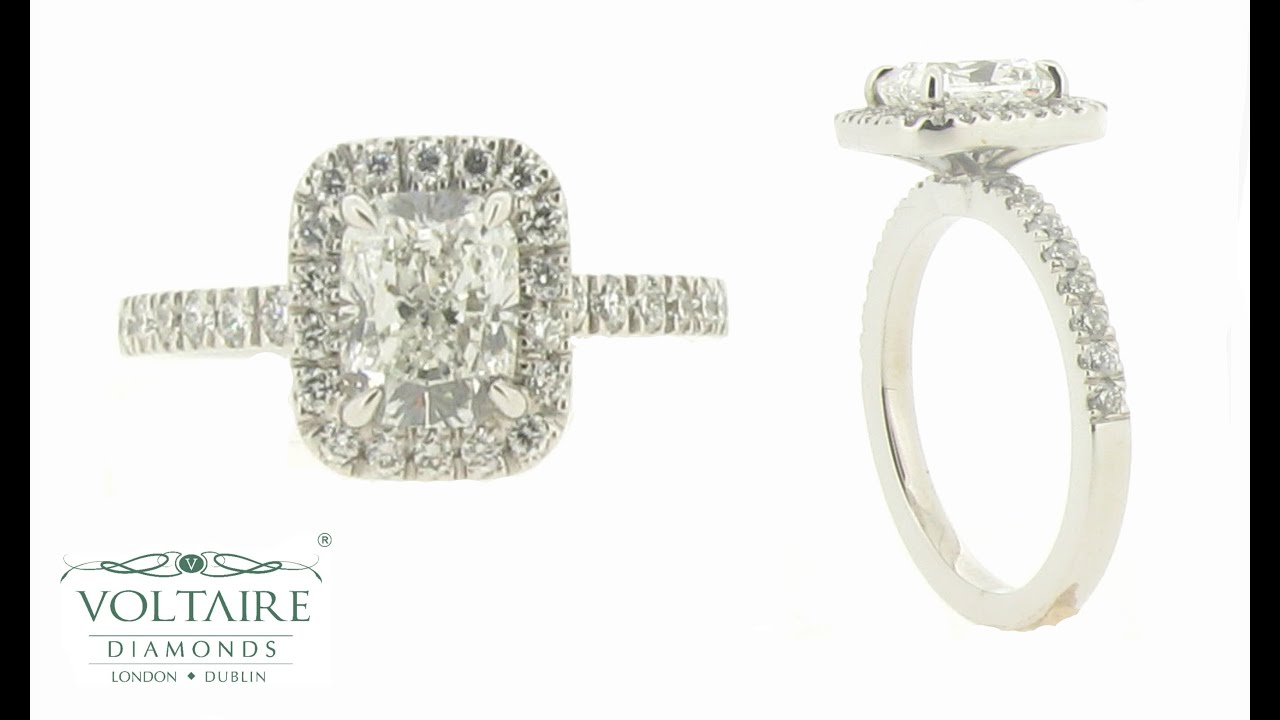 of diamond norman silverman pave halo cushion princess rings cut engagement micro inspirational
