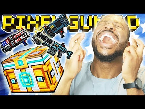 WE UNLOCKED.. SUPER CHEST OPENING! | Pixel Gun 3D