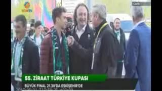 Türkiye Kupası Finali maçı öncesi Eskişehir'den Naklen yayın