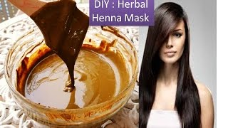 diy henna hair mask with amla juice deep conditioning hair mask for soft velvety hair