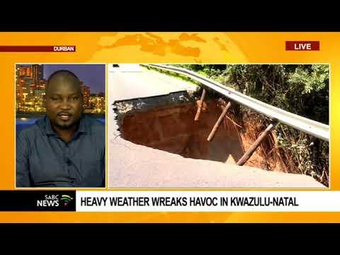 Heavy rains wreak havoc in KwaZulu-Natal