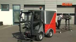 Hako Citymaster 600 - Der Profi in der Kompaktklasse Kehrmaschine Mehrzweckgerät Geräteträger